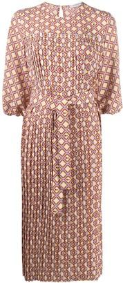 VIVETTA Geometric Print Dress