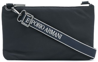 Emporio Armani Logo-Strap Shoulder Bag