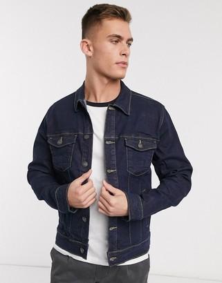 French Connection dark wash denim jacket