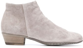 Officine Creative Suede Ankle Boots