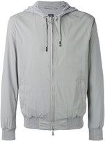 Eleventy zip hooded jacket