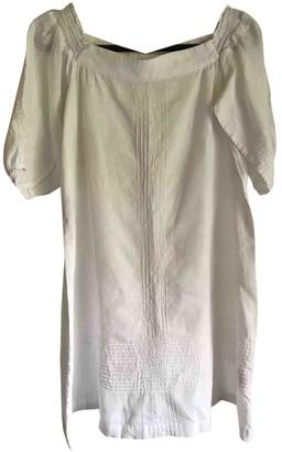 Whistles White Linen Dresses