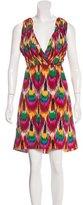 Alice + Olivia Abstract Print Sleeveless Dress w/ Tags