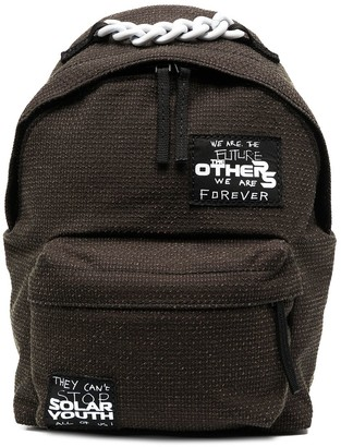 Raf Simons Chain-Link Detail Backpack