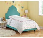 Skyline Furniture Kids Premier Azure Upholstered Arched Bed