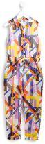 MSGM geometric print jumpsuit