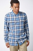 Vans Sycamore Plaid Flannel Long Sleeve Button Up Shirt