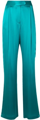 Mason by Michelle Mason High-Waisted Wide-Leg Trousers