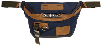 Master-piece Co Navy Potential Ver. 2 Waist Bag