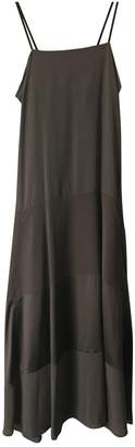 Brunello Cucinelli Brown Silk Dresses