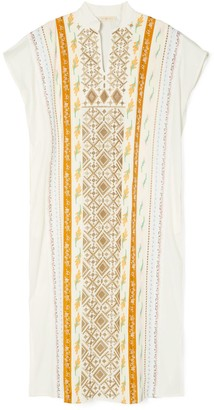 Tory Burch Ribbon Embellished Caftan