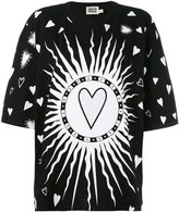 Fausto Puglisi printed T-shirt - women - Cotton - 38