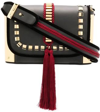 Alberta Ferretti tassel crossbody bag