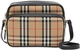 Burberry Medium Vintage Check and Leather Camera Bag