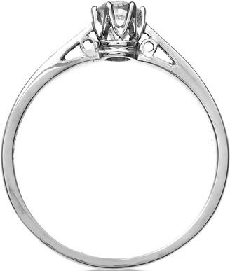 Love Diamond 9 Carat White Gold 25pt Diamond Solitaire Ring