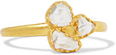 Pippa Small 18-karat Gold Diamond Ring - M 1/2