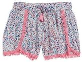 Jessica Simpson Girl's Tasha Print Shorts