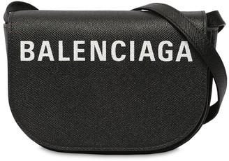 Balenciaga Xs Ville Day Leather Shoulder Bag