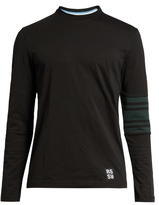 Raf Simons Elbow-patch Long-sleeved Cotton T-shirt