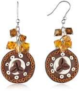 Dolci Gioie Chocolate Cake Earrings
