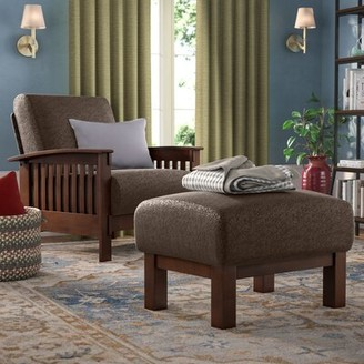 Three Posts Encinal Armchair With Ottoman
