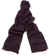 Loro Piana Winter Four In Hand Cashmere and Silk-Blend Scarf