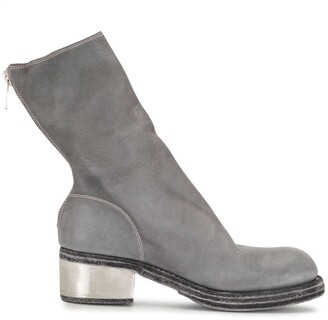 Guidi Leather Ankle Booties