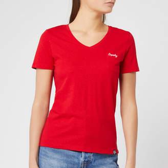 Superdry Women's Ol Essential Vee T-Shirt