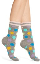 Happy Socks Women's Big Dot Crew Socks