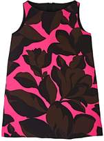Milly KIDS' FLORAL STRETCH-CREPE SLEEVELESS DRESS