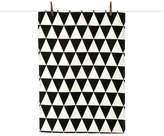 ferm LIVING Triangle Tea Towel Black
