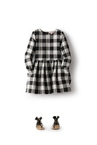 Country Road Oversize Gingham Dress