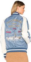 Schott Flight Jacket in Blue. - size L (also in )