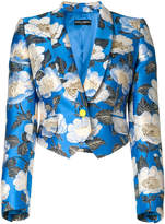 Dolce & Gabbana cropped floral print jacket