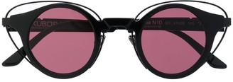 Kuboraum N10 round frame sunglasses