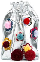 Simonetta flower patch bucket bag