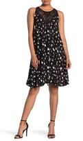 Papillon Ditsy Floral Print Dress
