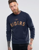 Lee Riders Crew Sweatshirt Navy