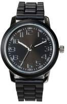 Xhilaration Women's Strap Watch - Black