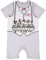 Stella McCartney Ice Cream Organic Cotton Jersey Romper