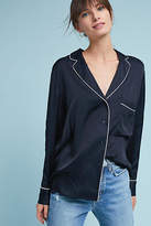 Just Female Luxe Pajama-Style Buttondown
