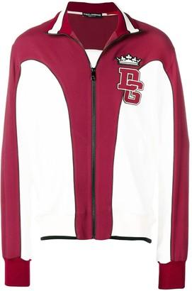 Dolce & Gabbana Logo Zipped Sweatshirt