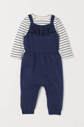 H&M Jumpsuit and Top - Blue