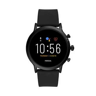 Fossil Gen 5 Carlyle HR Heart Rate Stainless Steel and Silicone Touchscreen Smartwatch
