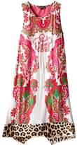 Roberto Cavalli Multi Print Tank Dress (Big Kids)