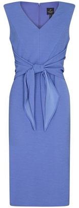 Adrianna Papell Rio Knit Tie Sheath Dress