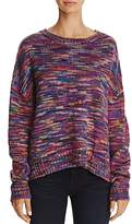 Freeway High/Low Space-Dyed Sweater