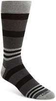 Lorenzo Uomo Men's Striped Socks