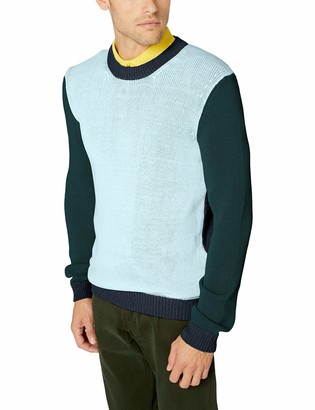BOSS ORANGE Men's Aleyogo Regular Fit Crew Neck Sweater