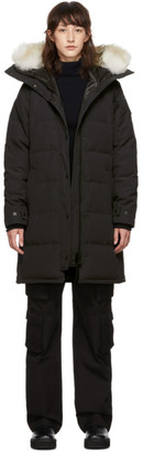 Canada Goose Navy Black Label Shelburne Parka
